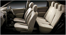 Mahindra Logan Rear Seats