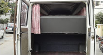 Tempo Traveller Boot Space