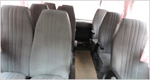 Tempo Traveller Rear Seats