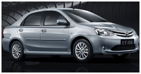 Toyota Etios Cars Rental