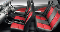 Toyota Etios Rear Seats