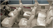 Toyota Innova Rear Seats